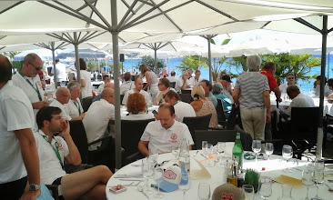Photo: Le déjeuner de remise des prix à la Plage Beau Rivage, sur la Promenade des Anglais à Nice