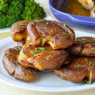 Smash Roasted Potatoes