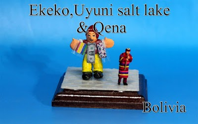 Uyuni salt lake & Qena -Bolivia-