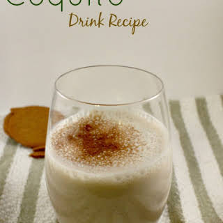 Easy Coquito Drink.