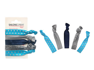 Bandas Elasticas Salon   Expert Azul Brill X 5Und