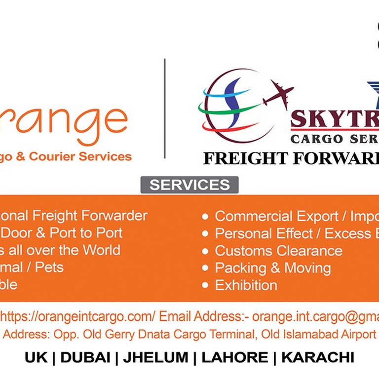 Orange Int Cargo & Courier Services - Freight Forwarding Service in