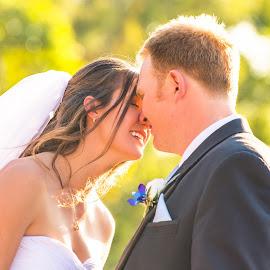A Moment Shared by Sarah Sullivan - Wedding Bride & Groom ( love, wedding, ever after, bride, marriage, groom, sarah sullivan photography )