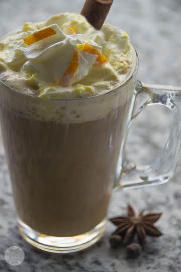 Spiced Coffee and Orange Cream
