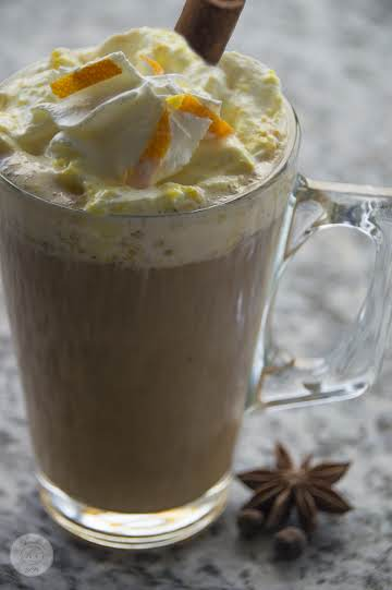 Spiced Coffee and Orange Cream