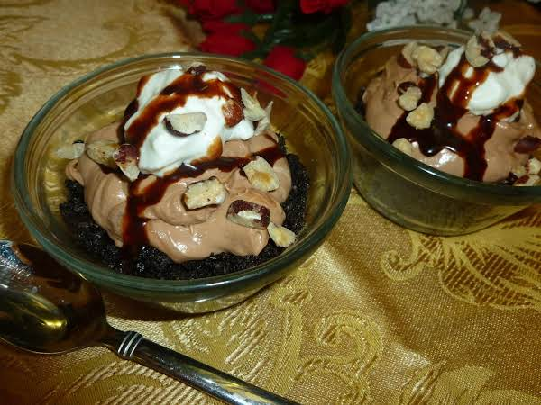 Chocolate Hazelnut Mousse Mini Pies Recipe