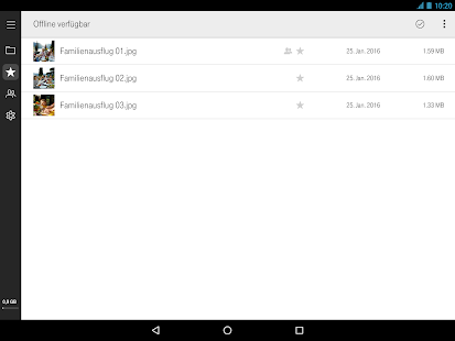 MagentaCLOUD – Miniaturansicht des Screenshots