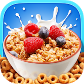 Cereal Maker Kids Cooking Game