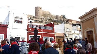San Antón recorriendo las calles del Casco Histórico.