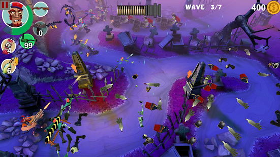 Mad Gardener: Zombie Defense screenshot