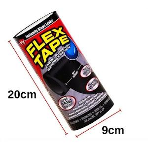 Banda super adeziva, rezistenta la apa - Flex Tape Wide 8