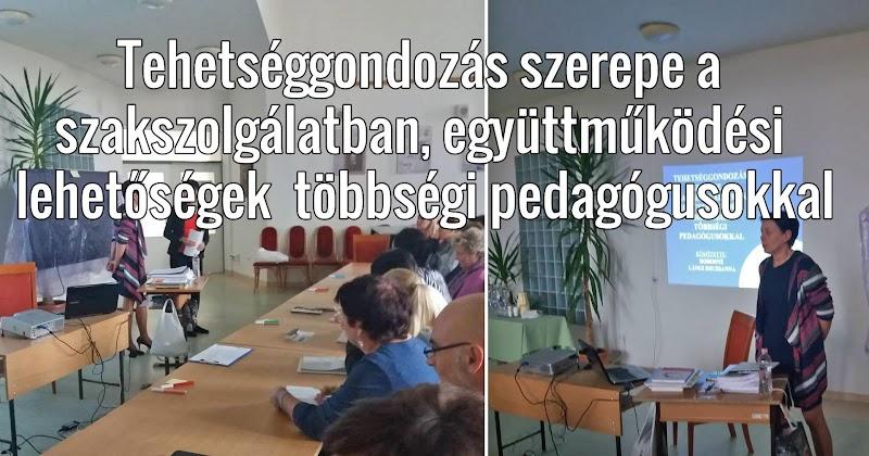 Tehetséggondozás szerepe a szakszolgálatban, együttműködési lehetőségek - Na