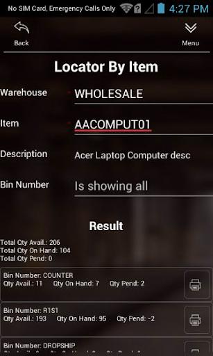 Scanco Acumatica Warehouse 180907.1 screenshots 3