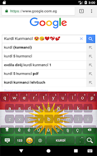 Kurdish Kurmanji Keyboard with Emoji - náhled