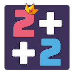 2+2: Number Puzzles Game, Number Matching Icon