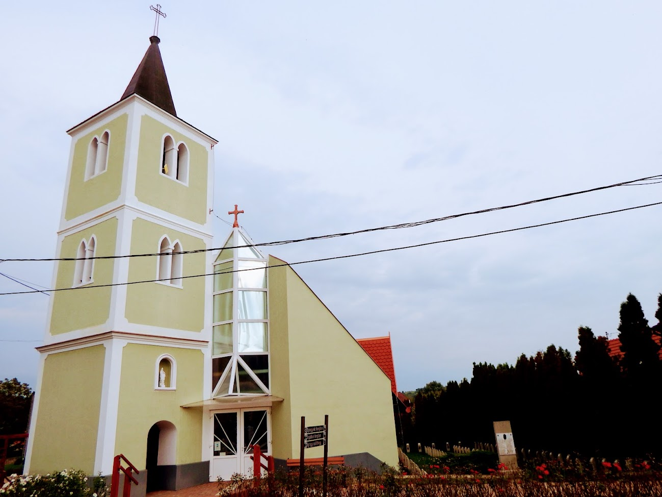 Hévíz - Egregy Jézus Szíve rk. templom (Fradi templom)