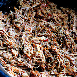 Chipotle Sweet Pulled Pork (Slow Cooker).