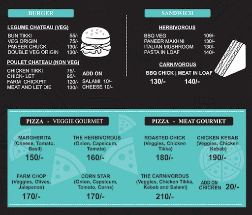 The Hungry Pit menu 3