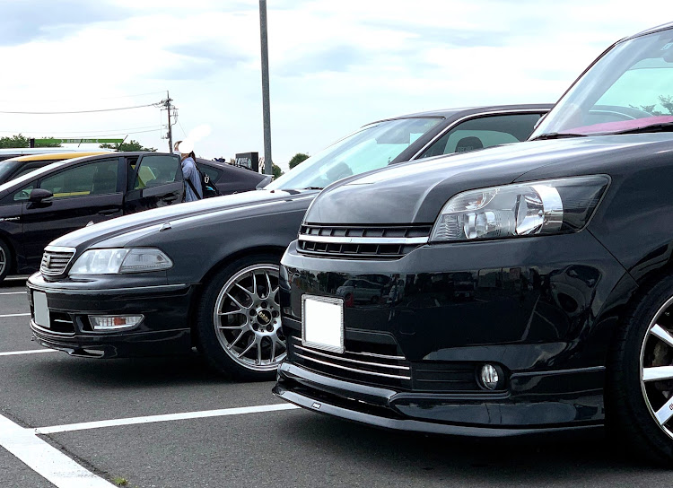 マークII JZX100のSSS(saitama street stage),スタバ,ルミオン,過去コラボ,ブラック&ブラックに関するカスタム&メンテナンスの投稿画像4枚目