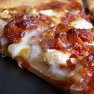 Barbecue Chicken Pizza.