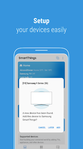 SmartThings (Samsung Connect) Android App Screenshot
