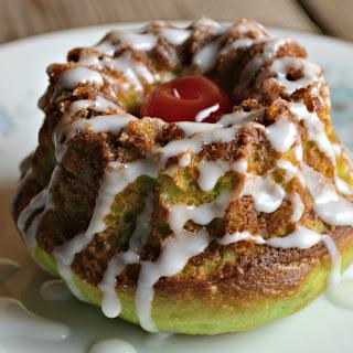 Grinch's Mini Pistachio Coffee Cakes.