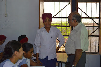 Photo: 07-08-2014 Govt. Sr. Sec. School, Manauli, Mohali