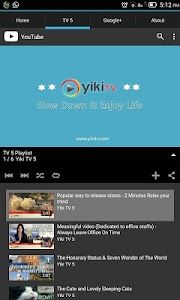 Yiki TV 5 Channel | Fun & Edu screenshot 1