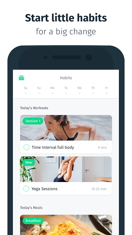 spesso 8fit - Workouts, Meal Planner & Personal Trainer - Android Apps on  PT45