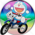 doraemon monster game bike race