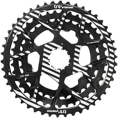 E*Thirteen Replacement Aluminum Cogs for TRS Plus 11-Speed Cassette, 33-46t, Black alternate image 0