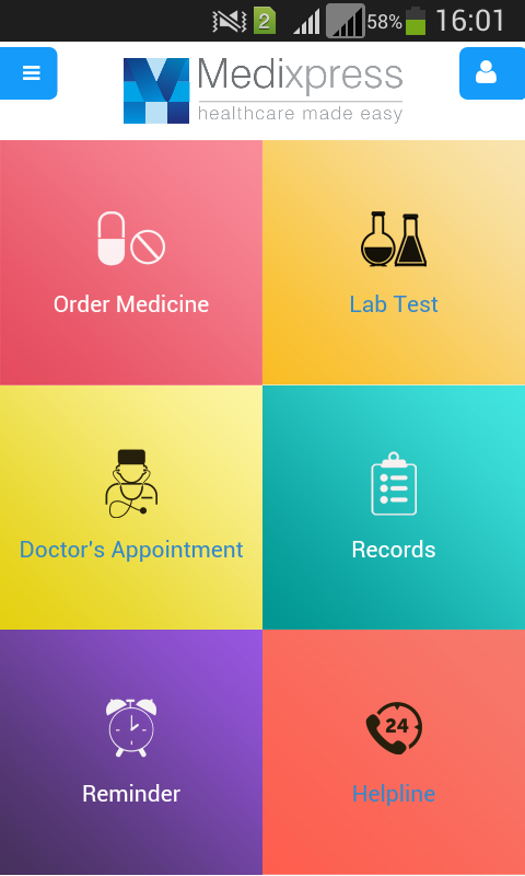 Online Pharmacy- screenshot