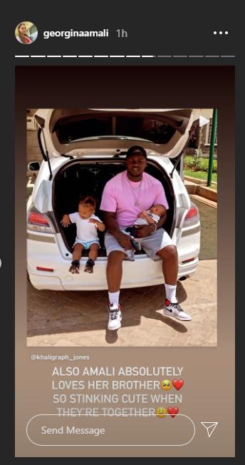 Khaligraph and Georgina's son, Baby Lu