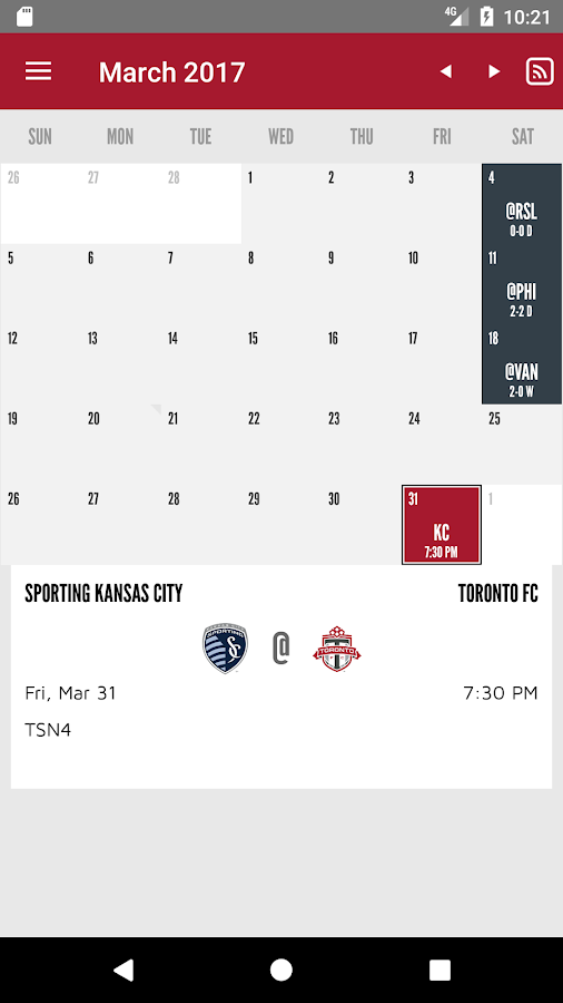 Toronto FC- screenshot