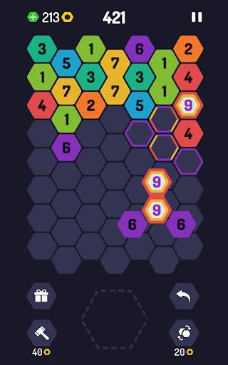 UP 9 - Hexa Puzzle! Merge Numbers to get 9 apkdebit screenshots 12