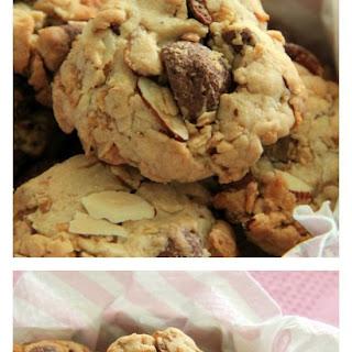 Peanut and Cornflake Cookies.