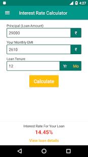 Loan EMI Calculator - náhled