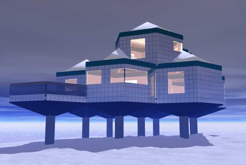 Arcta 39 the perfect arctic shelter for Arctic house design
