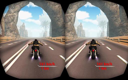 公路特技自行车骑手VR