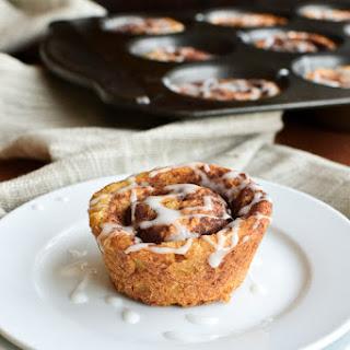 Muffin Tin Cinnamon Buns with Vanilla Ripple Schnapps Icing 24 cinnamon buns