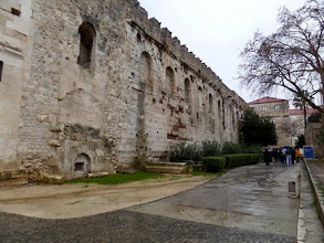 Photo: It is a massive structure that originally housed Diocletian, his wife and daughter, and 100 soldiers as a retirement residence.