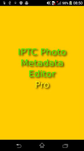 IPTC Photo Metadata Editor Pro