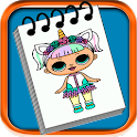 How To Draw Cute Dolls icon