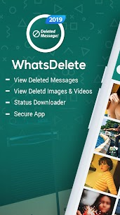 WhatsDelete: View Deleted Messages & Status saver (MOD, Pro) v1.1.40 1