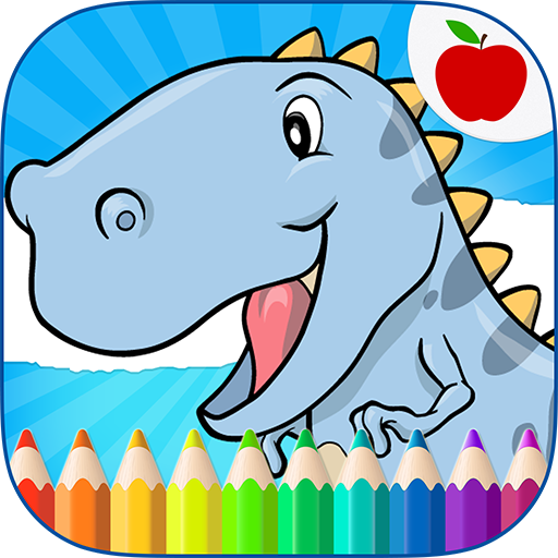 Dinosaurs Coloring Book Android APK Download Free By CLEVERBIT