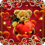 Valentines Teddy Icon