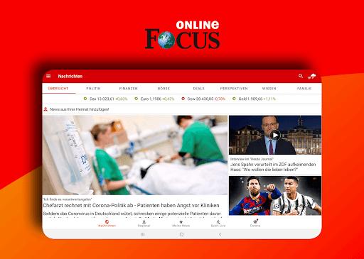 FOCUS Online - Nachrichten: Die schnelle News App  screenshots 8