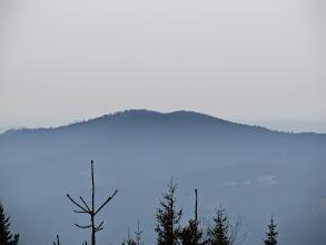 Photo: 23.Mój następny cel to dwuwierzchołkowy Lubań (1211 m).