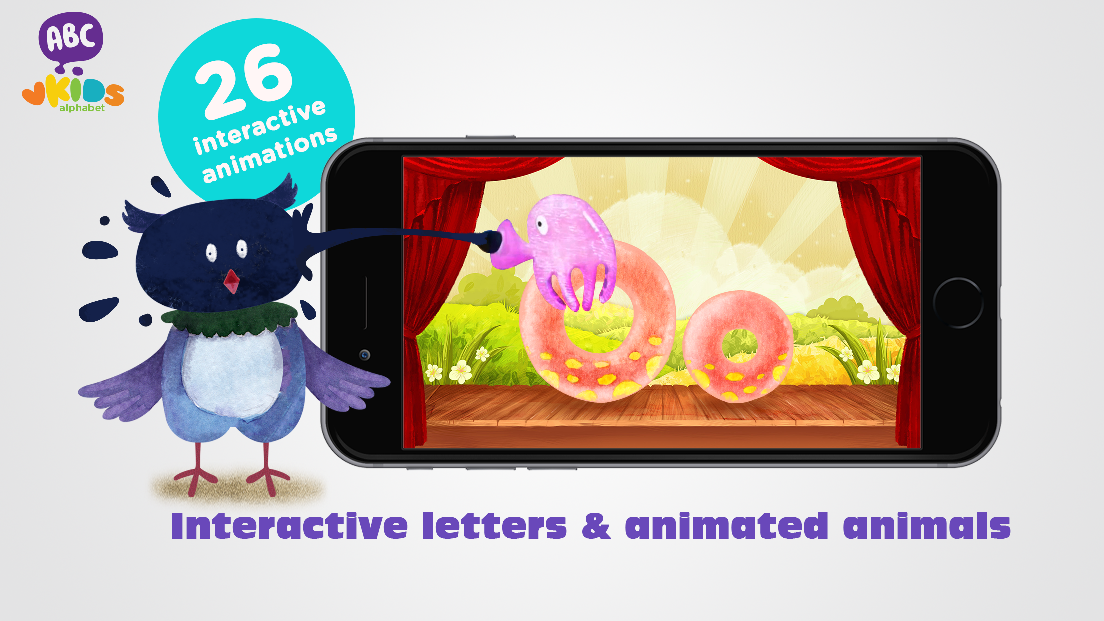 ABC Animal Alphabet for kids- screenshot