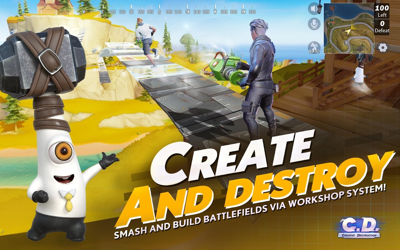 Creative Destruction screenshots